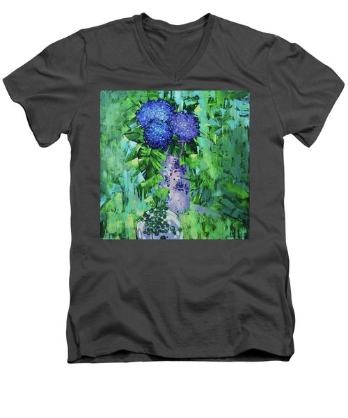 Still Life. Solar Threads Men's V-Neck T-Shirt