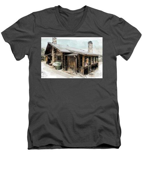 Still Livable Men's V-Neck T-Shirt