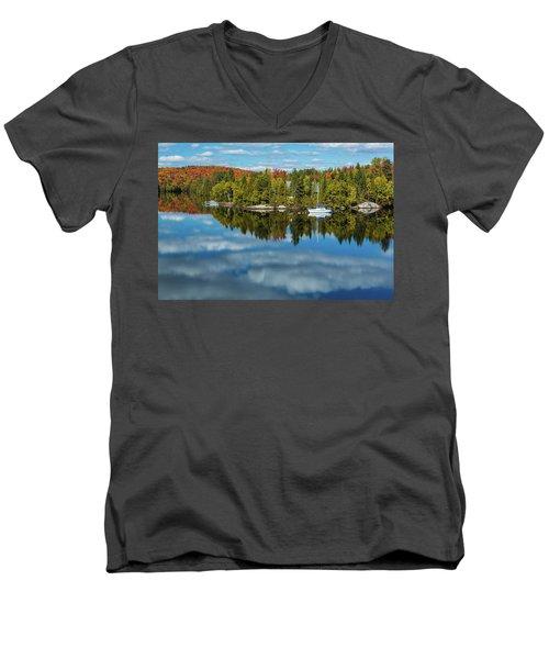 Still Men's V-Neck T-Shirt