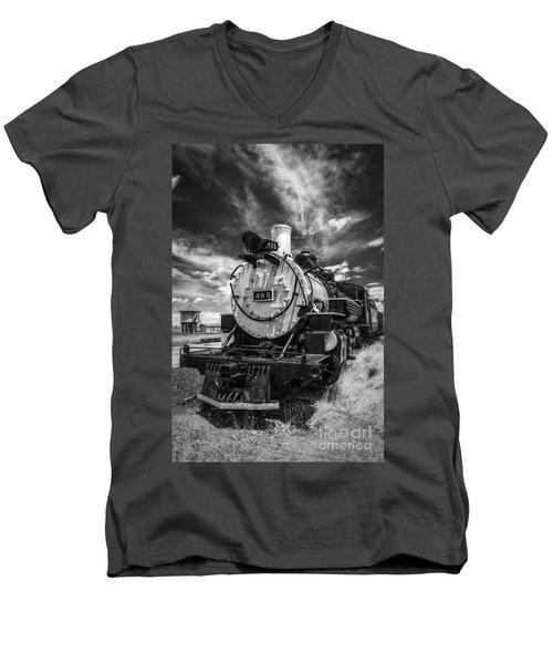 Still Smoking Men's V-Neck T-Shirt