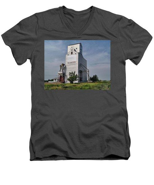 Still Standing Strong Men's V-Neck T-Shirt