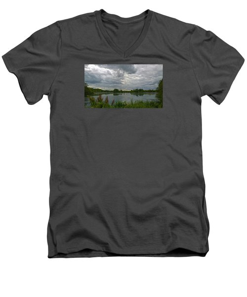 Still Waters Men's V-Neck T-Shirt