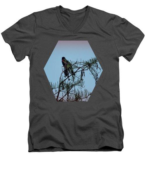 Men's V-Neck T-Shirt featuring the photograph Stillness by Jim Hill