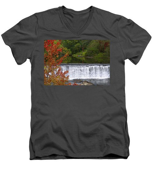 Stillness Of Beauty Men's V-Neck T-Shirt