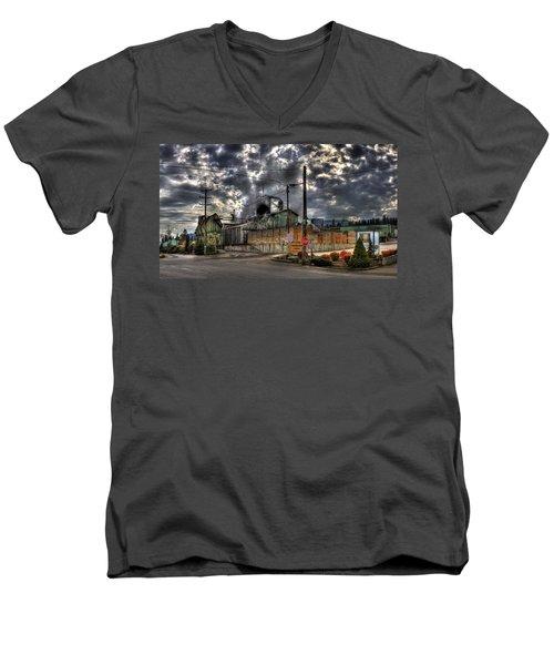 Stimson Lumber Mill Men's V-Neck T-Shirt