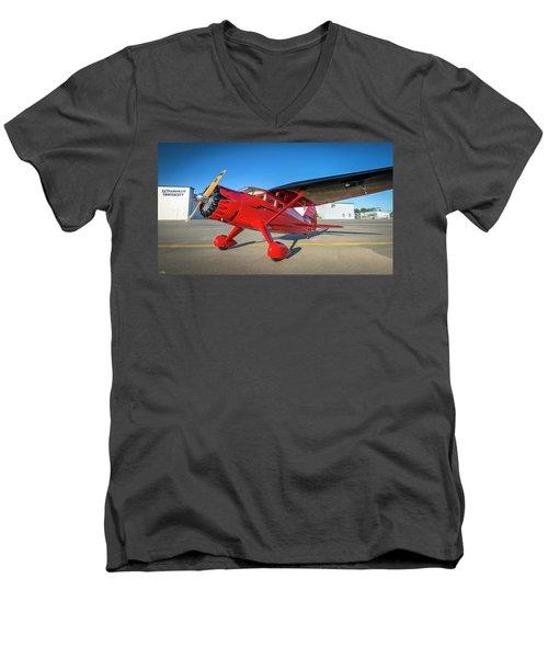 Stinson Reliant Rc Model 03 Men's V-Neck T-Shirt