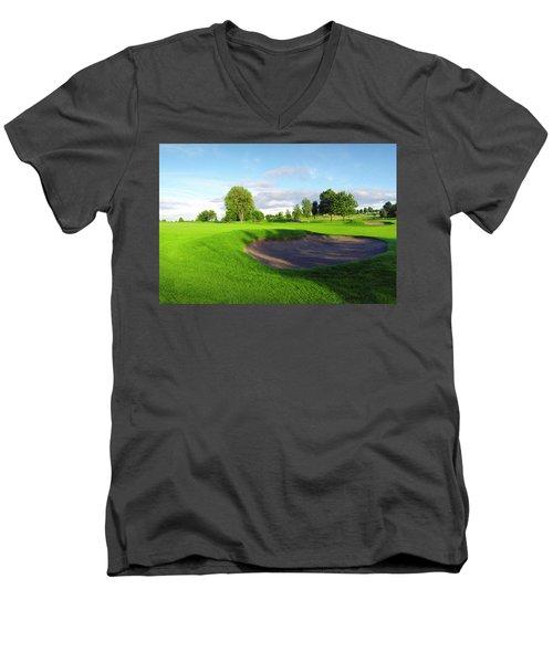 Stirling Golf Club 10th Men's V-Neck T-Shirt