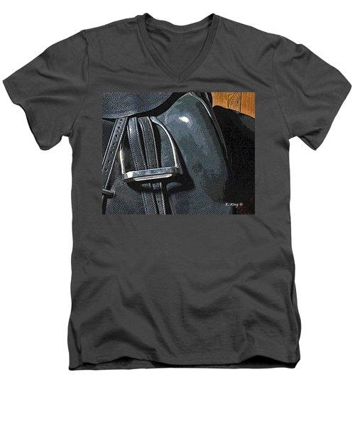 Stirrup Men's V-Neck T-Shirt