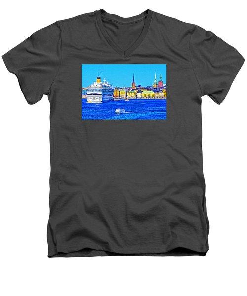 Stockholm Cruise Men's V-Neck T-Shirt