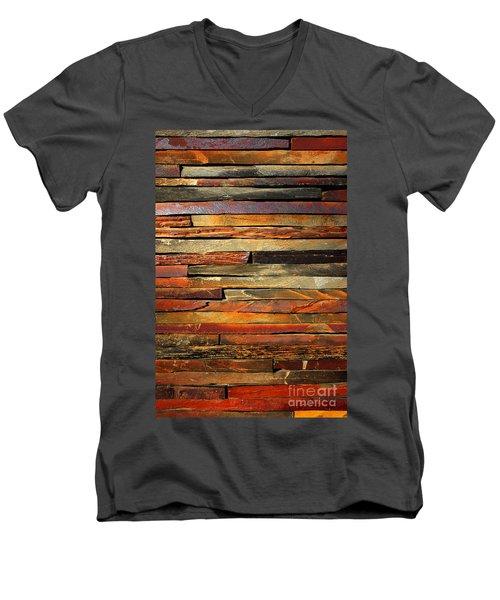 Stone Blades Men's V-Neck T-Shirt