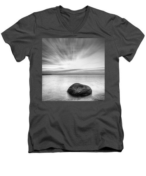 Stone In The Sea Men's V-Neck T-Shirt