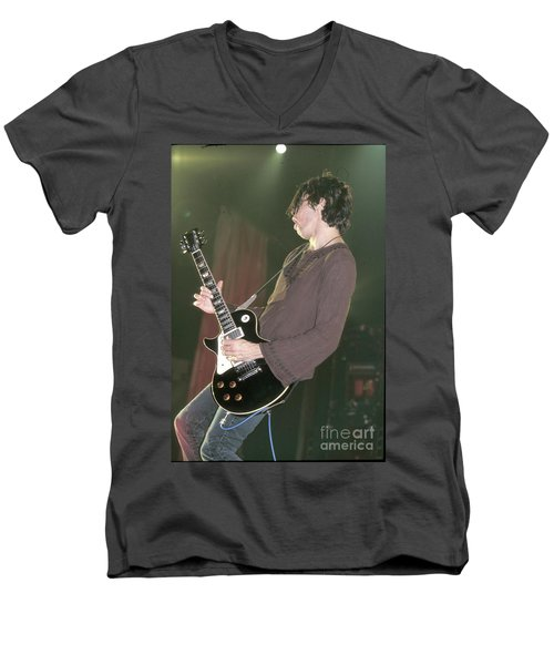 Stone Temple Pilots Dean Deleo Men's V-Neck T-Shirt