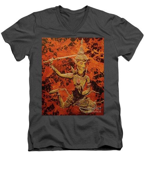 Stoned Love Men's V-Neck T-Shirt by Stuart Engel