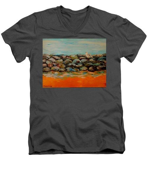 Stones Men's V-Neck T-Shirt