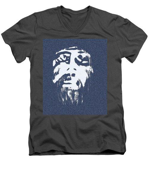 Carpenter's Genes Men's V-Neck T-Shirt