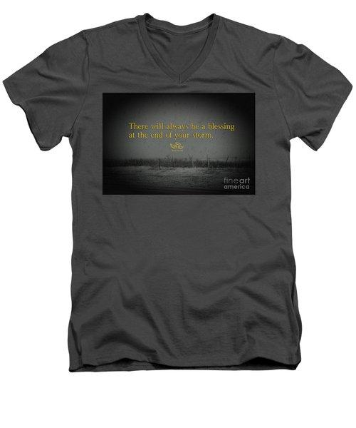 Storm Blessings Men's V-Neck T-Shirt
