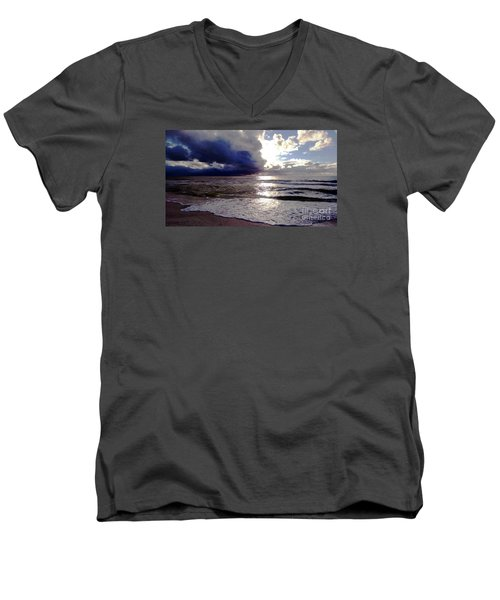 Storm Clouds 1 Men's V-Neck T-Shirt