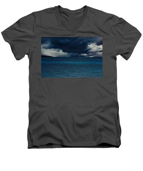 Storm Front Men's V-Neck T-Shirt