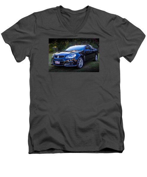 Men's V-Neck T-Shirt featuring the photograph Storm by Keith Hawley