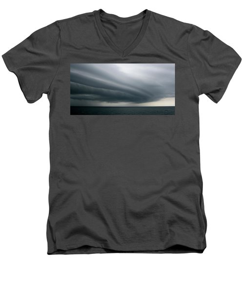Storm Near Liberia Men's V-Neck T-Shirt