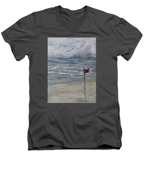 Storm Warning Men's V-Neck T-Shirt