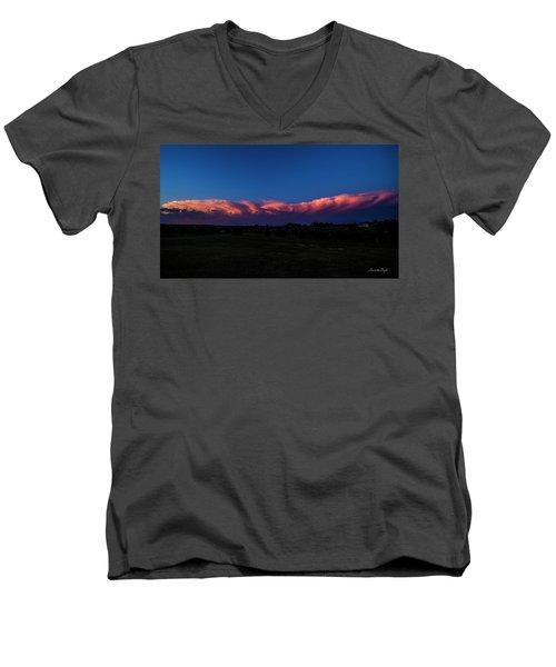 Storm Watching Men's V-Neck T-Shirt