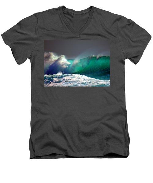 Storm Wave Men's V-Neck T-Shirt