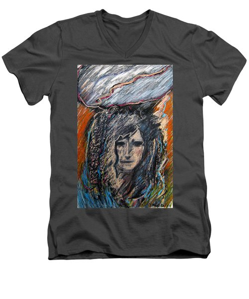 Stormy Day Men's V-Neck T-Shirt