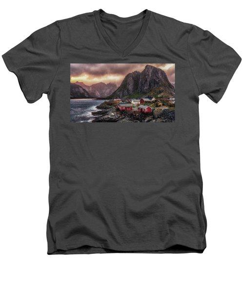 Stormy Hamnoy Men's V-Neck T-Shirt