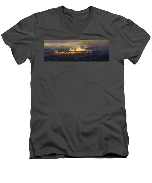 Stormy Skyscape Men's V-Neck T-Shirt