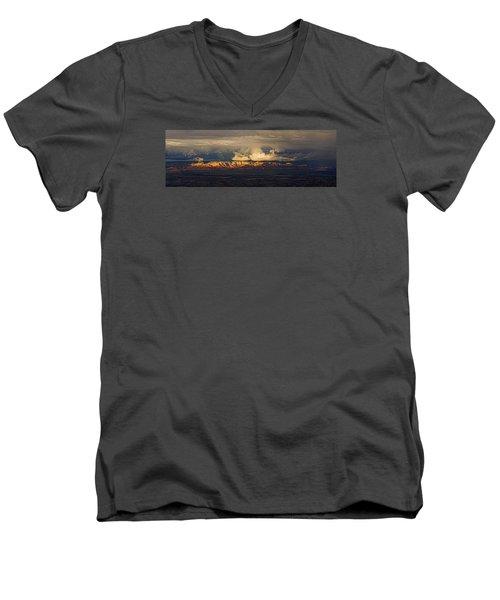 Stormy Skyscape Men's V-Neck T-Shirt