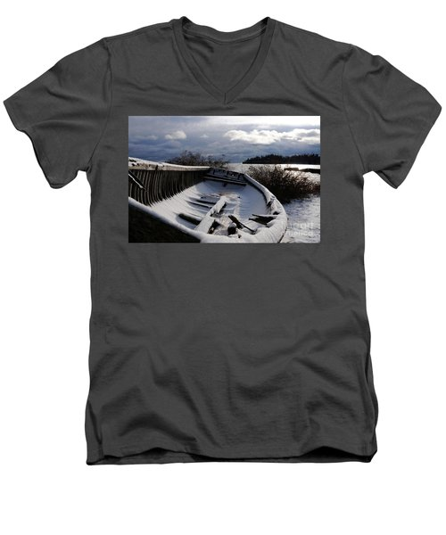 Stormy Weather Men's V-Neck T-Shirt by Sandra Updyke