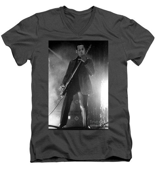 Stp-2000-robert-0914 Men's V-Neck T-Shirt