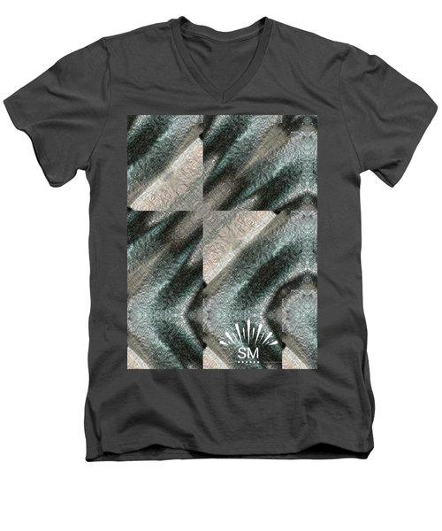 Strange Four Corner Art Men's V-Neck T-Shirt