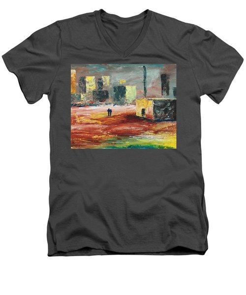 Strange Land Men's V-Neck T-Shirt