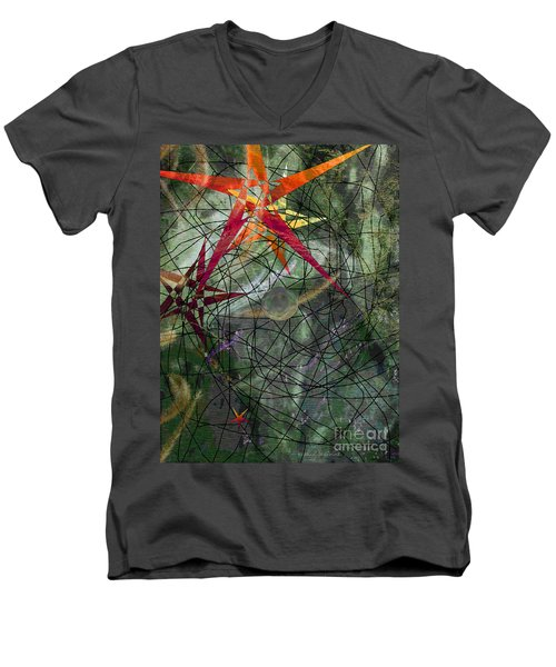 Strange Universe Men's V-Neck T-Shirt