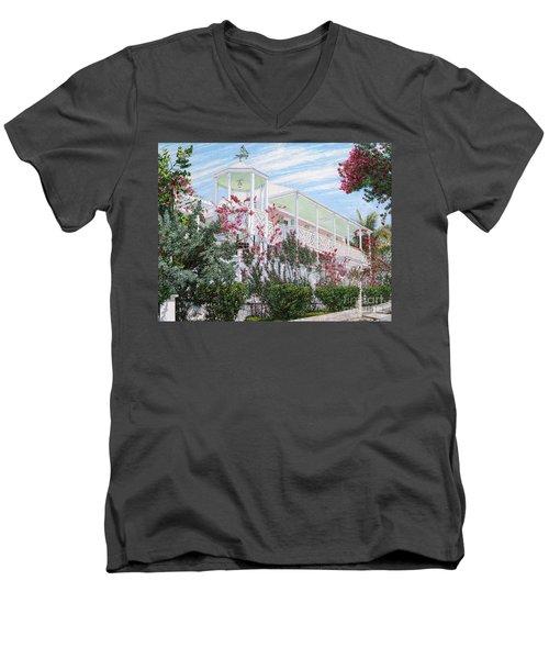 Strawberry House Men's V-Neck T-Shirt