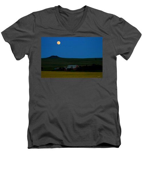 Strawberry Moon Men's V-Neck T-Shirt