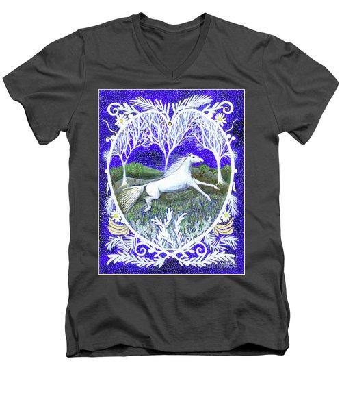 Streak Men's V-Neck T-Shirt