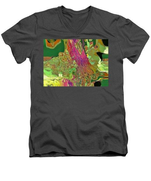 Streaming Men's V-Neck T-Shirt