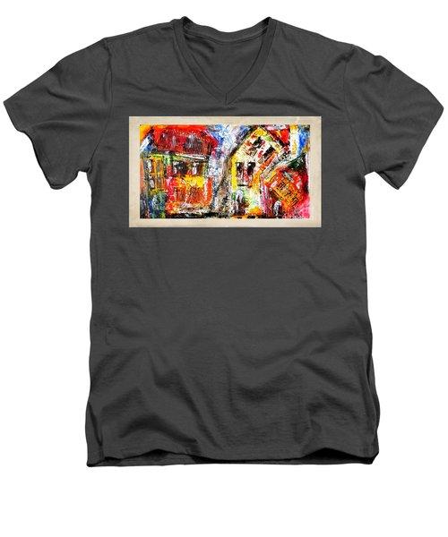 Street 3970 Men's V-Neck T-Shirt