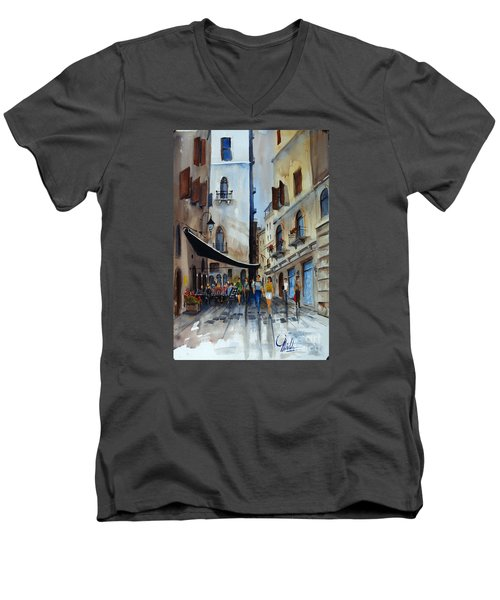 Taverna D' Strada Men's V-Neck T-Shirt
