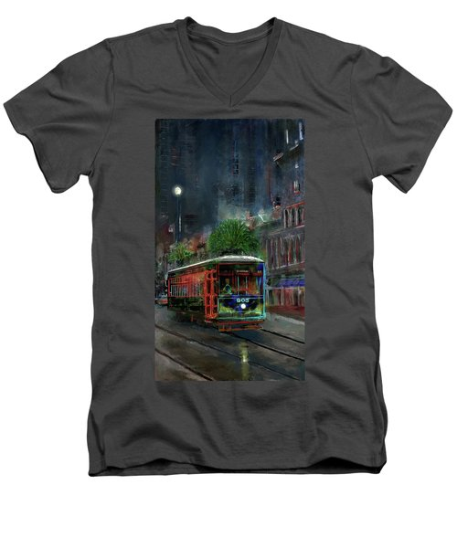 Street Car 905 Men's V-Neck T-Shirt