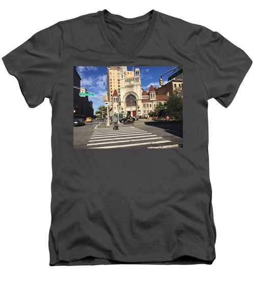 Street Crossing Men's V-Neck T-Shirt