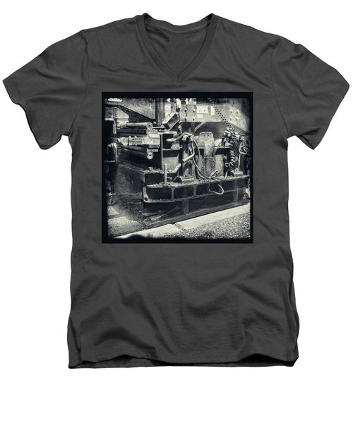 Street Paver Men's V-Neck T-Shirt