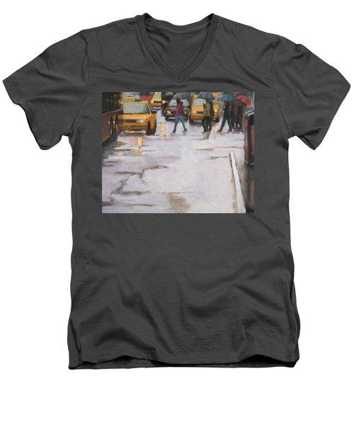 Street Wise Men's V-Neck T-Shirt