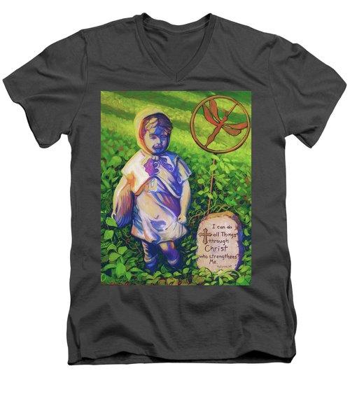 Strength Men's V-Neck T-Shirt