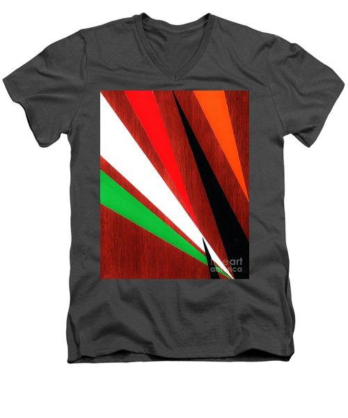 Stress Fractures  Men's V-Neck T-Shirt