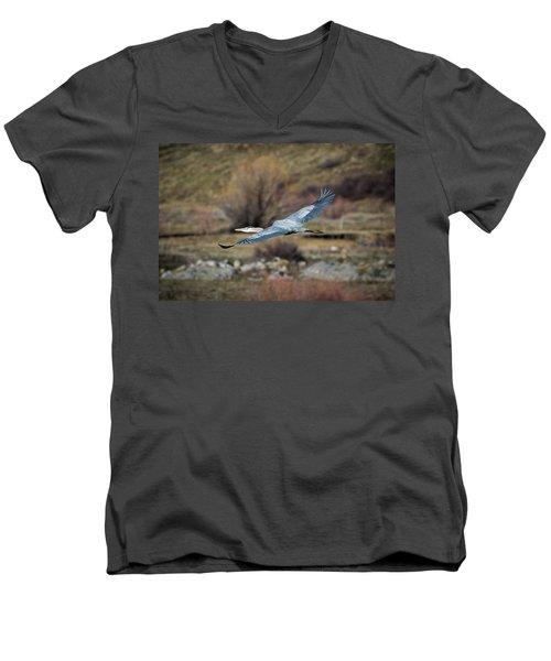 Stretched Wide Open Men's V-Neck T-Shirt