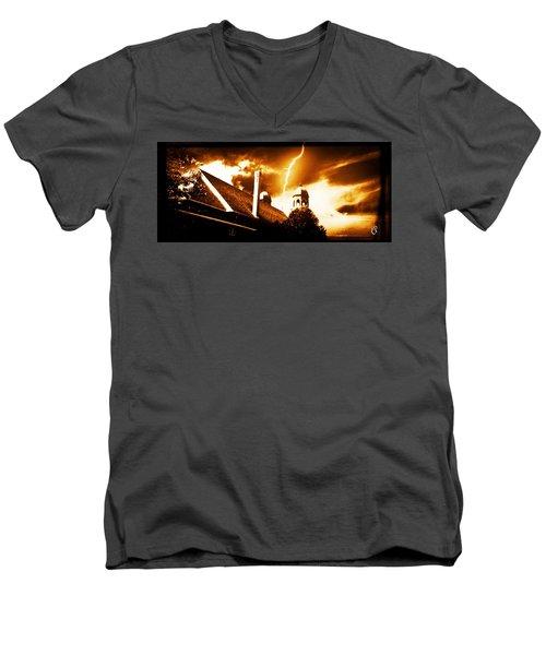 Stricken Men's V-Neck T-Shirt